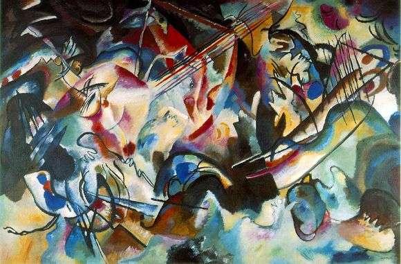 Описание картины Василия Кандинского «Композиция VII»