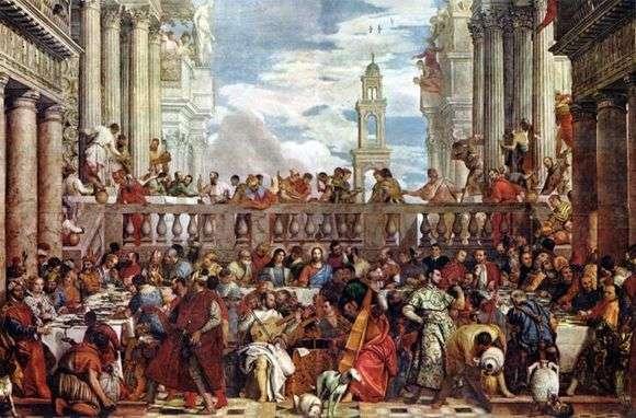 Описание картины Паоло Веронезе «Брак в Кане Галилейской»