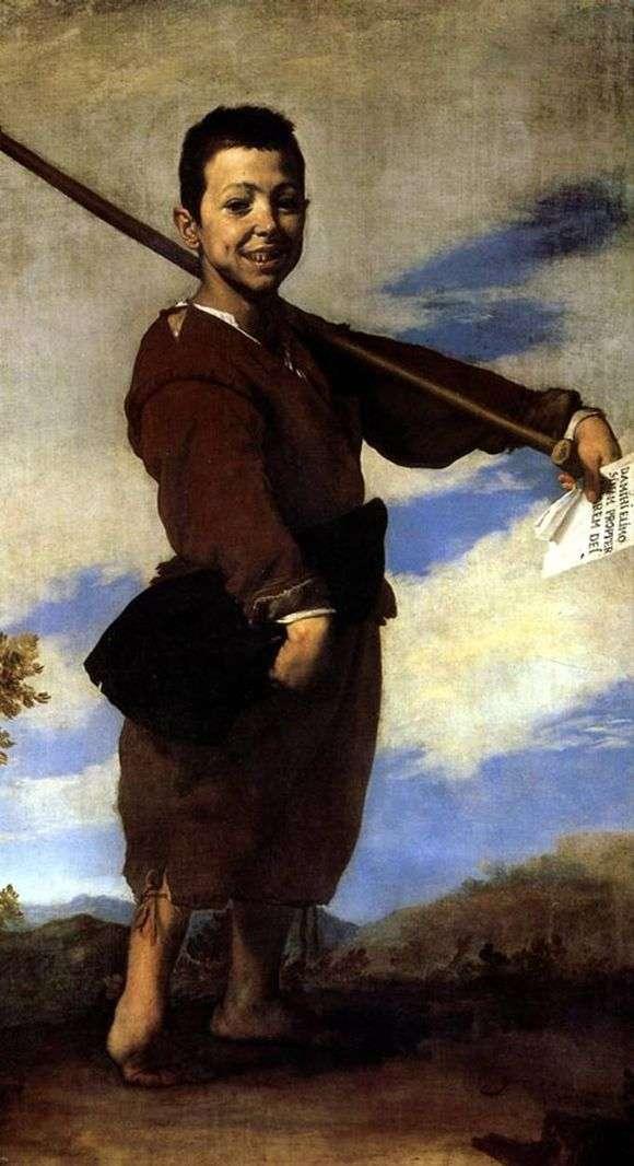 Описание картины Хусепе де Риберы «Хромоножка»