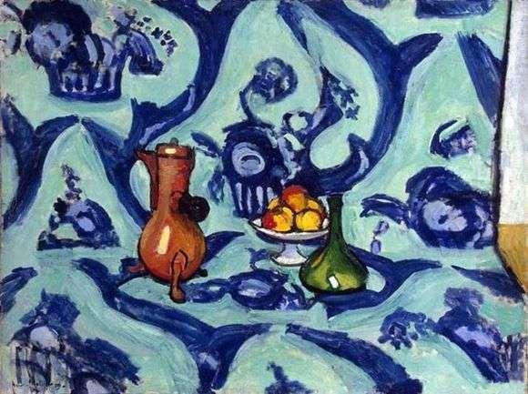 Описание картины Анри Матисса «Натюрморт»