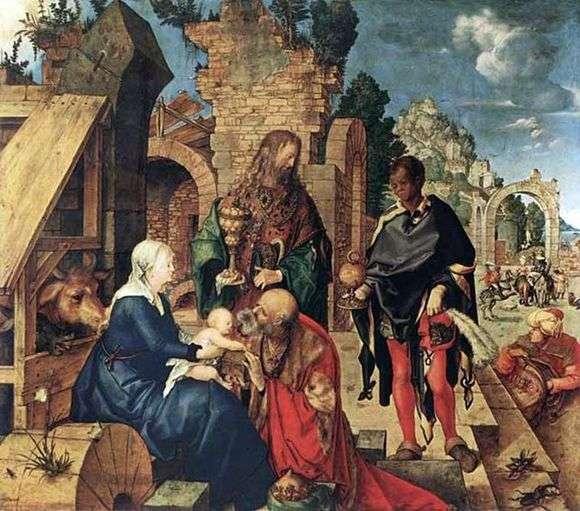 Описание картины Альбрехта Дюрера «Поклонение волхвов»
