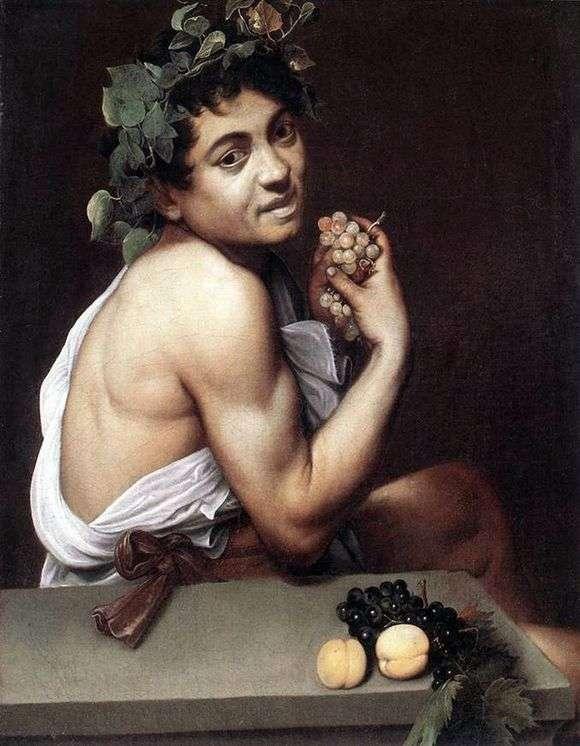 Описание картины Микеланджело Меризи да Караваджо «Больной Вакх»