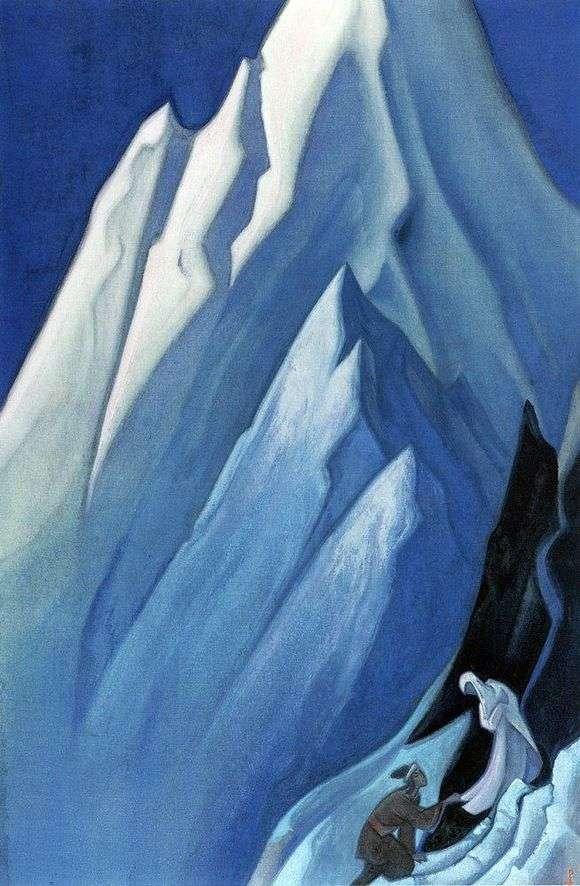 Описание картины Николая Рериха «Ведущая»