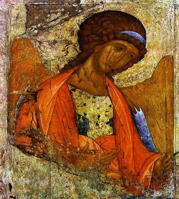 Описание иконы Андрея Рублева «Архангел Михаил»