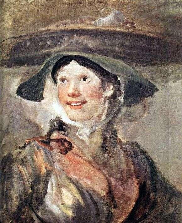 Описание картины Уильяма Хогарта «Девушка с креветками»
