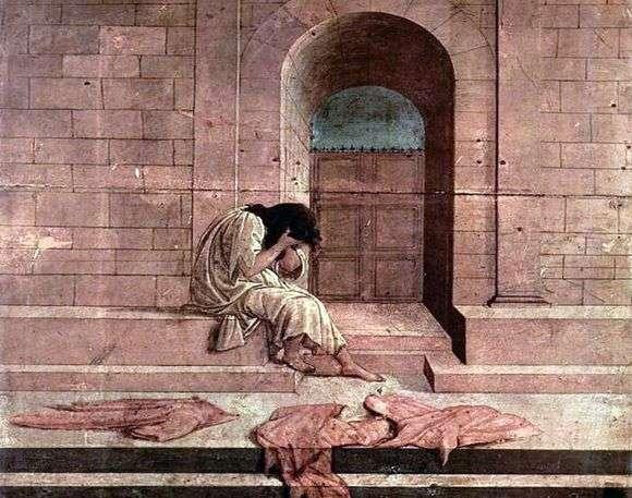 Описание картины Сандро Боттичелли «Покинутая»