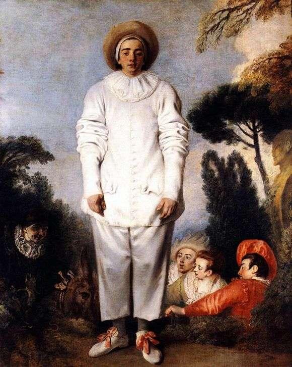 Описание картины Антуана Ватто «Жиль»