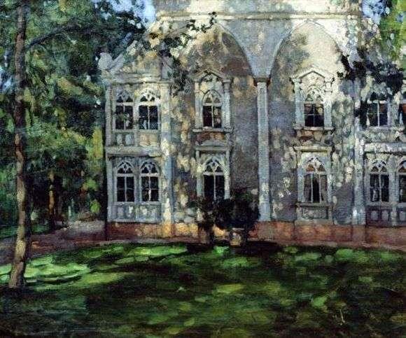 Описание картины Станислава Жуковского «В парке»
