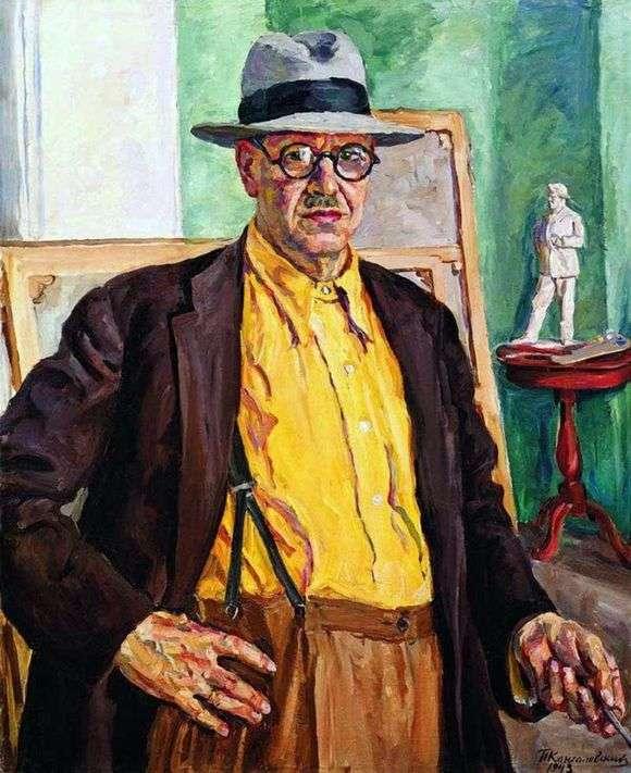 Описание картины Петра Кончаловского «Автопортрет»