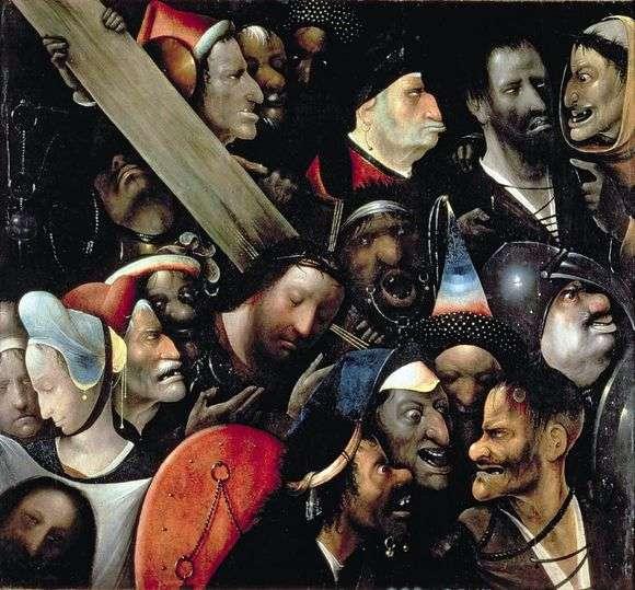 Описание картины Иеронима Босха «Несение креста»