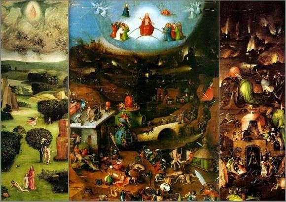 Описание триптиха Иеронима Босха «Страшный суд»
