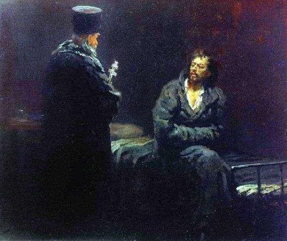 Описание картины Ильи Репина «Отказ от исповеди»