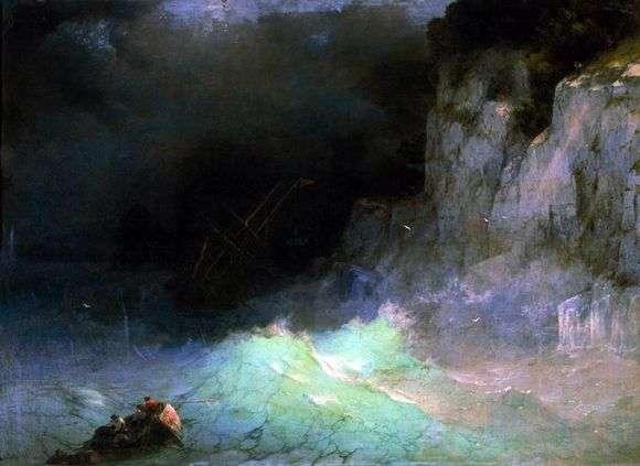 Описание картины Ивана Айвазовского «Шторм»
