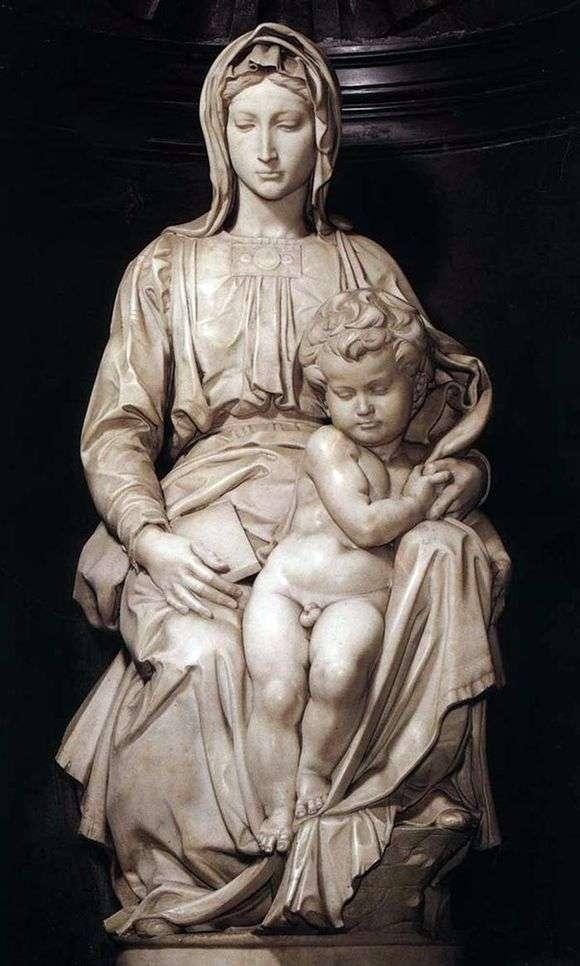 Описание скульптуры Микеланджело Буанарроти «Мадонна Брюгге»