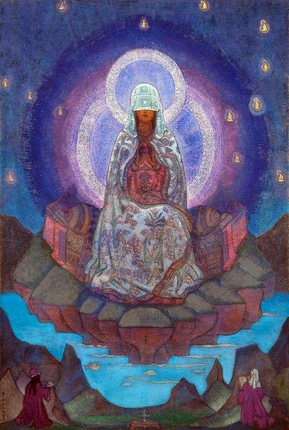 Описание картины Николая Рериха «Матерь мира»