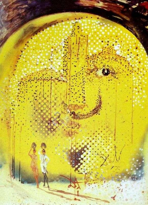 Описание картины Сальвадора Дали «Солнце»