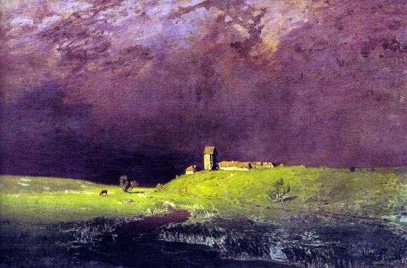 Описание картины Архипа Куинджи «После дождя»