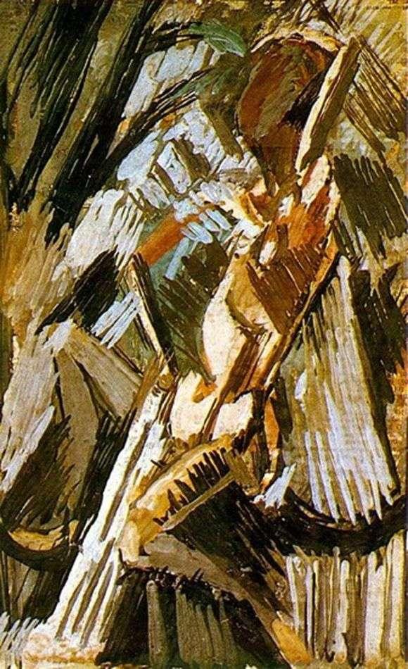 Описание картины Пабло Пикассо «Купальщица»