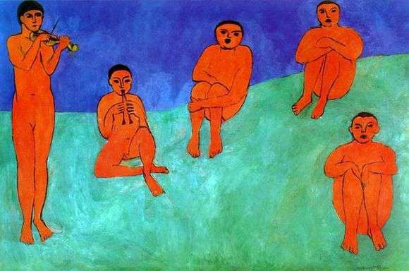 Описание картины Анри Матисса «Музыка»