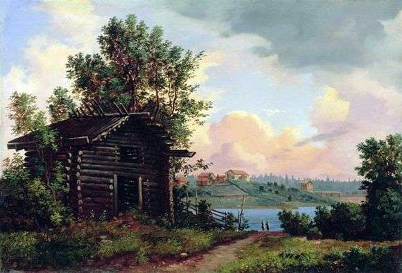Описание картины Ивана Шишкина «Пейзаж»