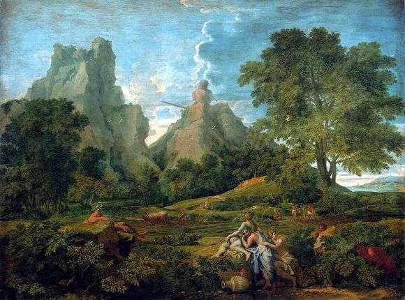 Описание картины Николы Пуссена «Пейзаж с Полифемом»