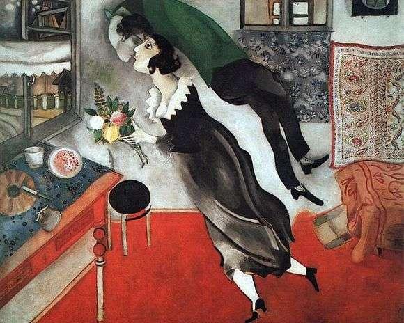Описание картины Марка Шагала «День рождения»