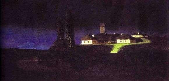 Описание картины Архипа Куинджи «Украинская ночь»