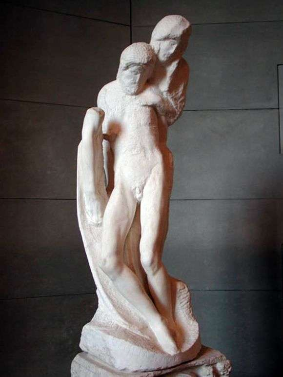 Описание скульптуры Микеланджело Буанарроти «Пьета Ронданини»