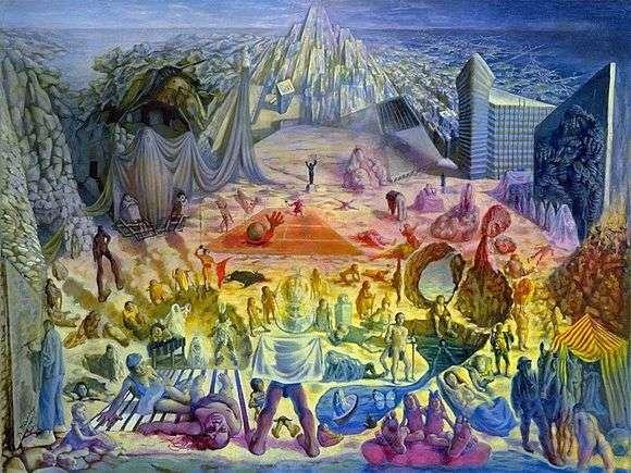 Описание картины Павла Челищева «Феномен»