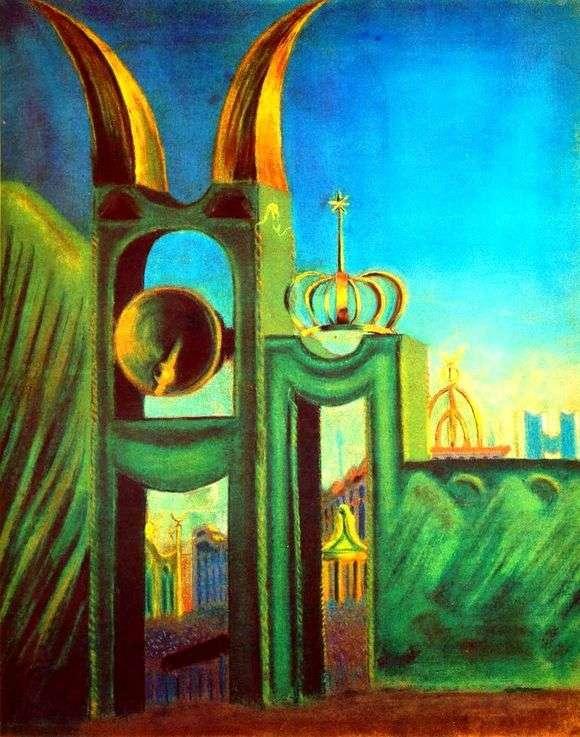 Описание картины Микалоюса Чюрлениса «Похоронная симфония»
