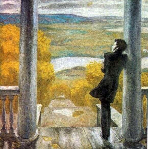 Описание картины Виктора Попкова «Осенние дожди»