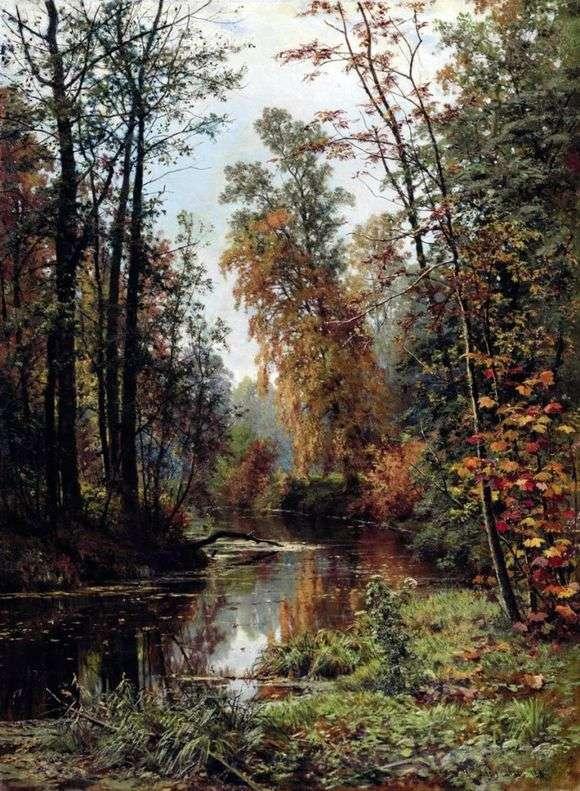 Описание картины Ивана Шишкина «Осенний пейзаж»