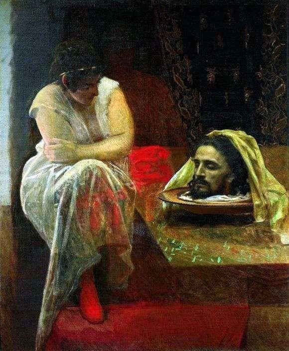 Описание картины Ивана Крамского «Иродиада»
