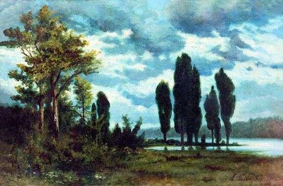 Описание картины Архипа Куинджи «Пейзаж»
