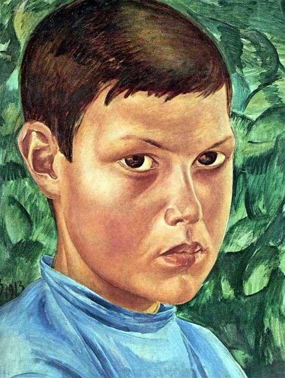 Описание картины Кузьмы Петрова Водкина «Портрет мальчика»