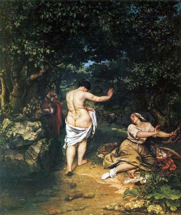 Описание картины Гюстава Курбе «Купальщицы»
