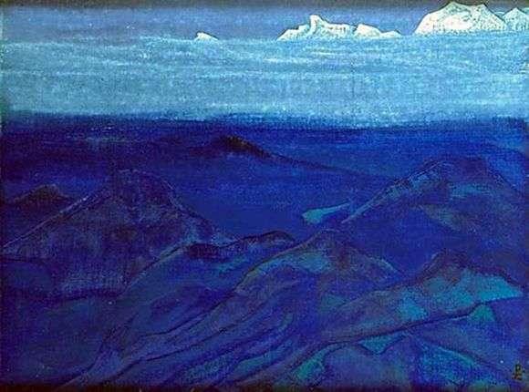 Описание картины Николая Рериха «Горы»