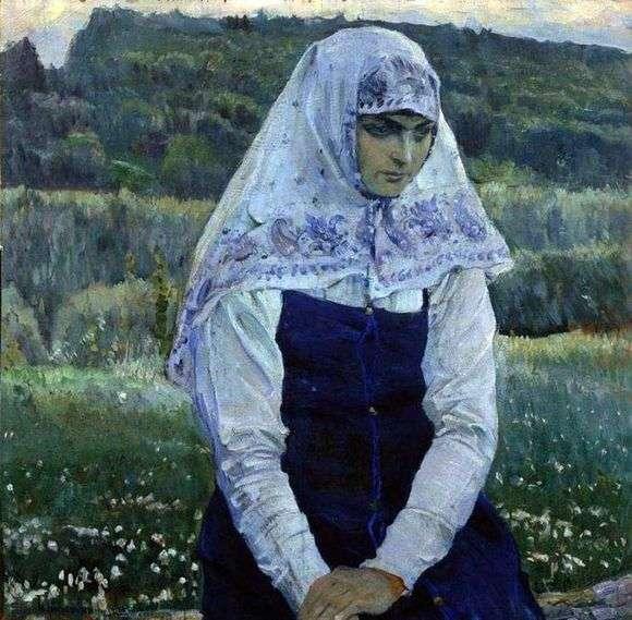 Описание картины Михаила Нестерова «Христова невеста»