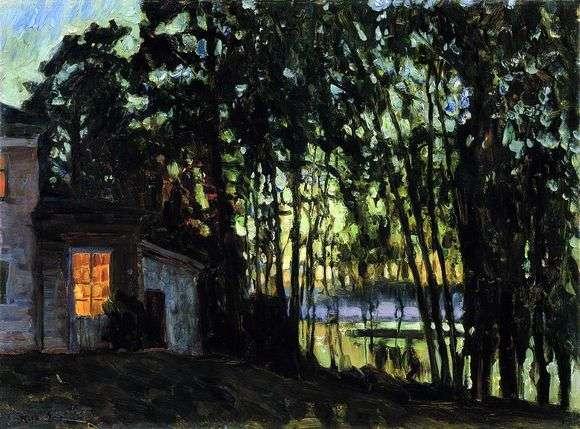 Описание картины Станислава Жуковского «Июльская ночь»