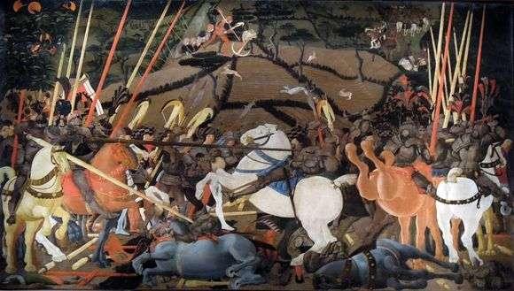 Описание картины Паоло Уччелло «Битва при Сан Романо»