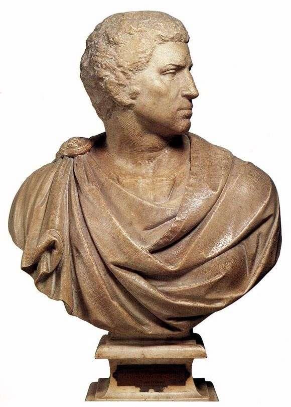 Описание скульптуры Микеланджело Буанарроти «Брут»