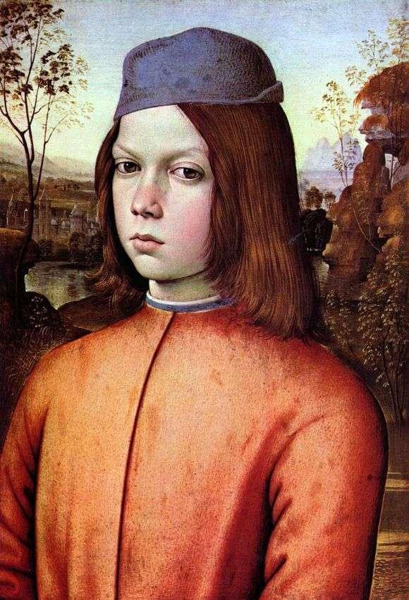 Описание картины Пинтуриккио «Портрет мальчика»