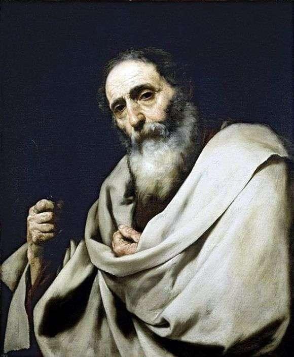 Описание картины Хусепе де Риберы «Святой Варфоломей»