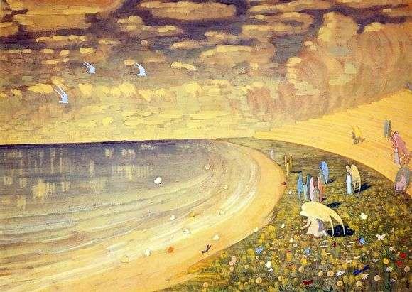 Описание картины Микалоюса Чюрлениса «Рай»