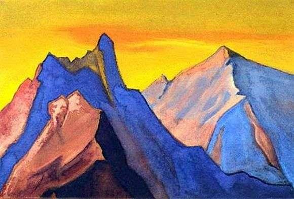 Описание картины Николая Рериха «Гималаи»