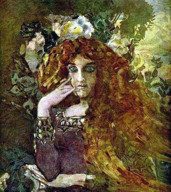 Описание картины Михаила Врубеля «Муза»