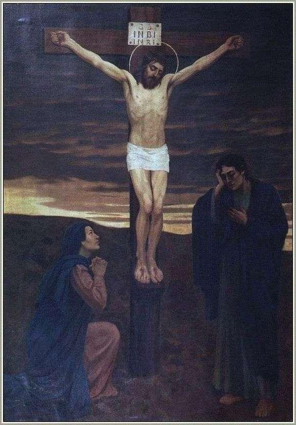 Описание картины Виктора Васнецова «Распятие Христа»