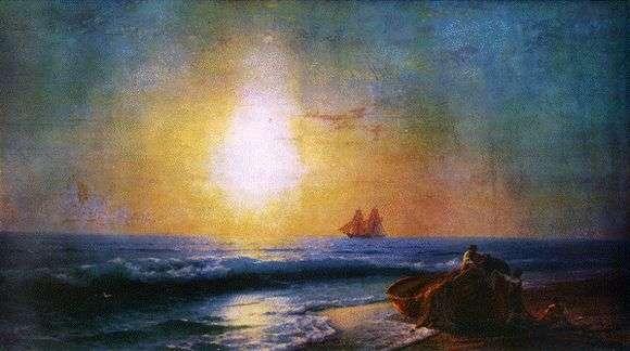 Описание картины Ивана Айвазовского «Восход солнца»