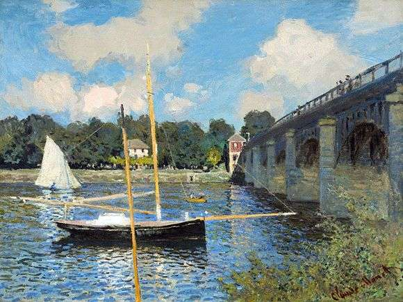 Описание картины Клода Моне «Мост в Аржантее»