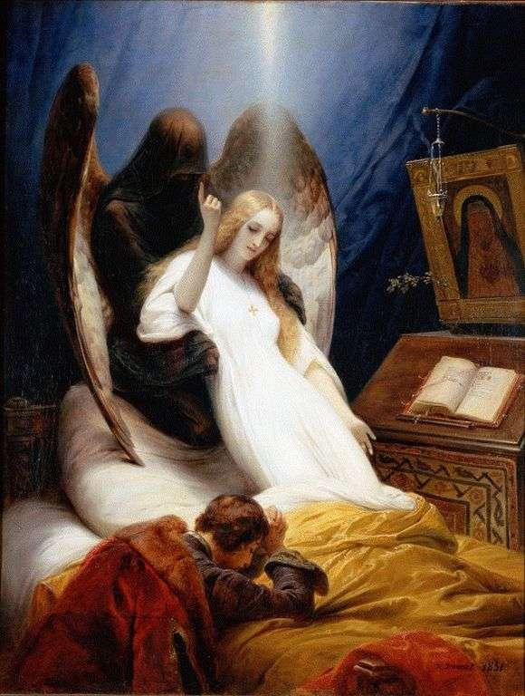 Описание картины Ораса Верне «Ангел смерти»